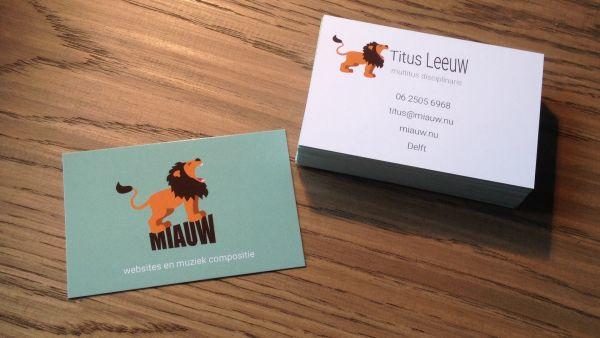 visitekaartje Miauw