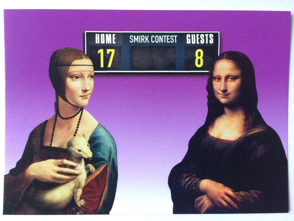 Smirk contest - Miauw