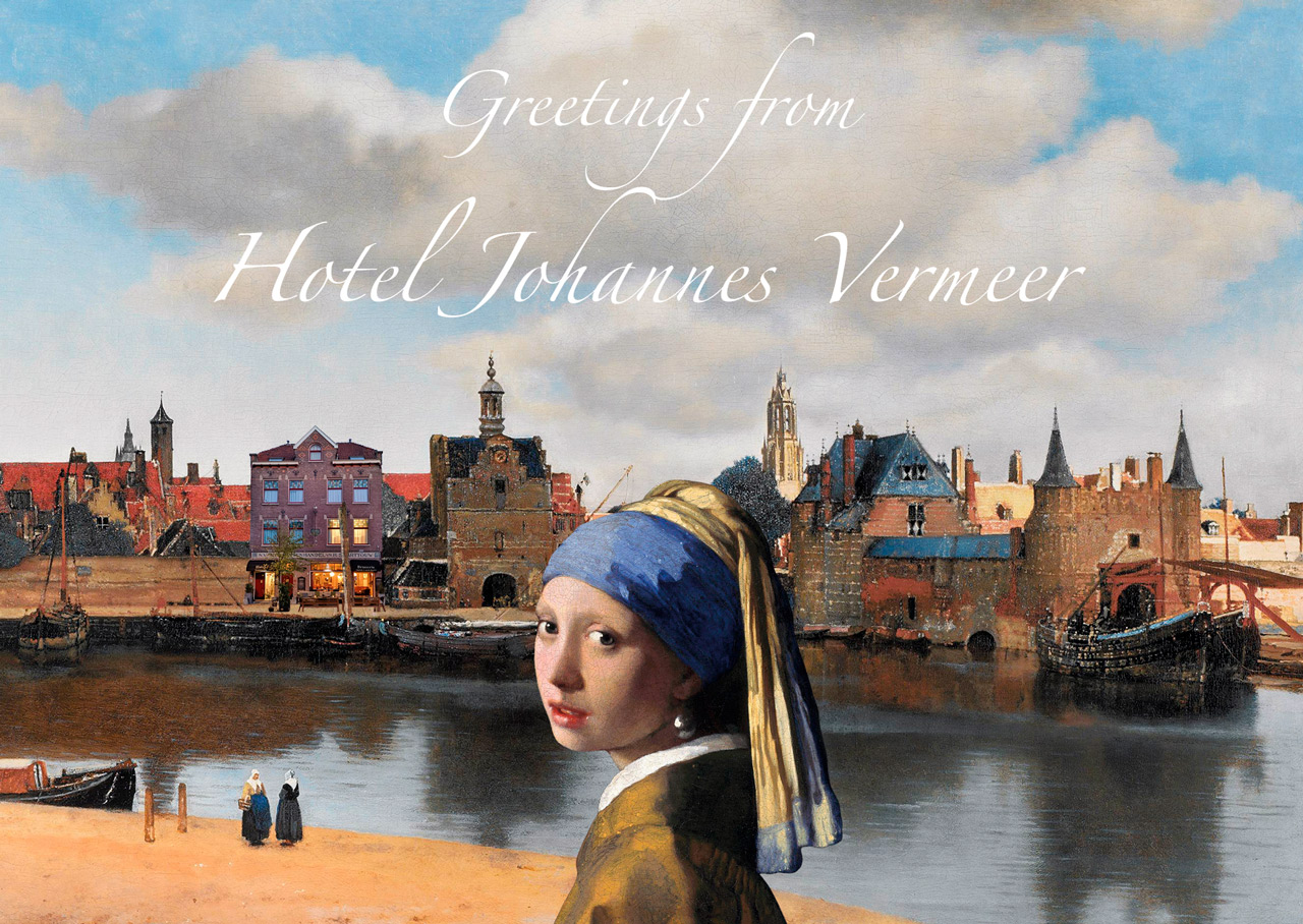 Grafisch ontwerper Delft - custom postkaarten