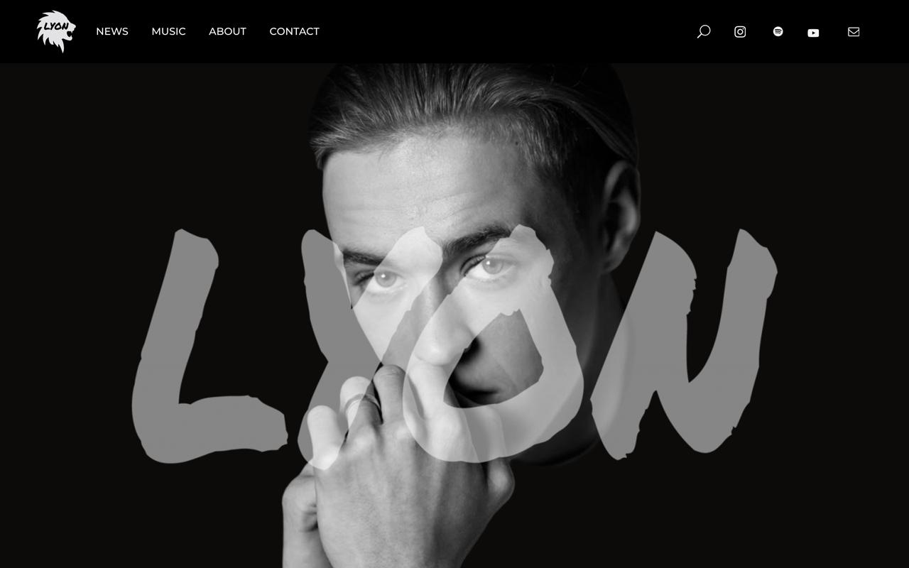 Grafisch ontwerper in delft - muziek webdesign